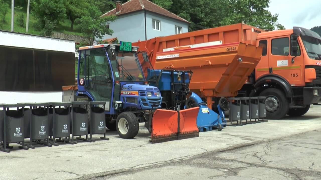 Pribojskim komunalcima vredna donacija stigla iz Beograda