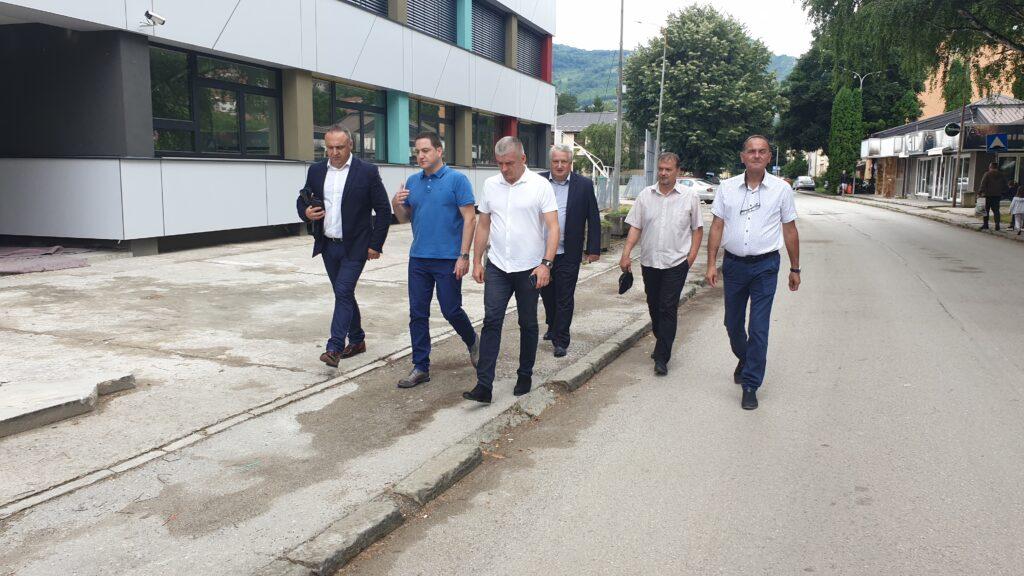 Rukovodstvo opštine priboj sa ministrom Branko Ružićem foto: www.ppmedia.rs A.Rovčanin