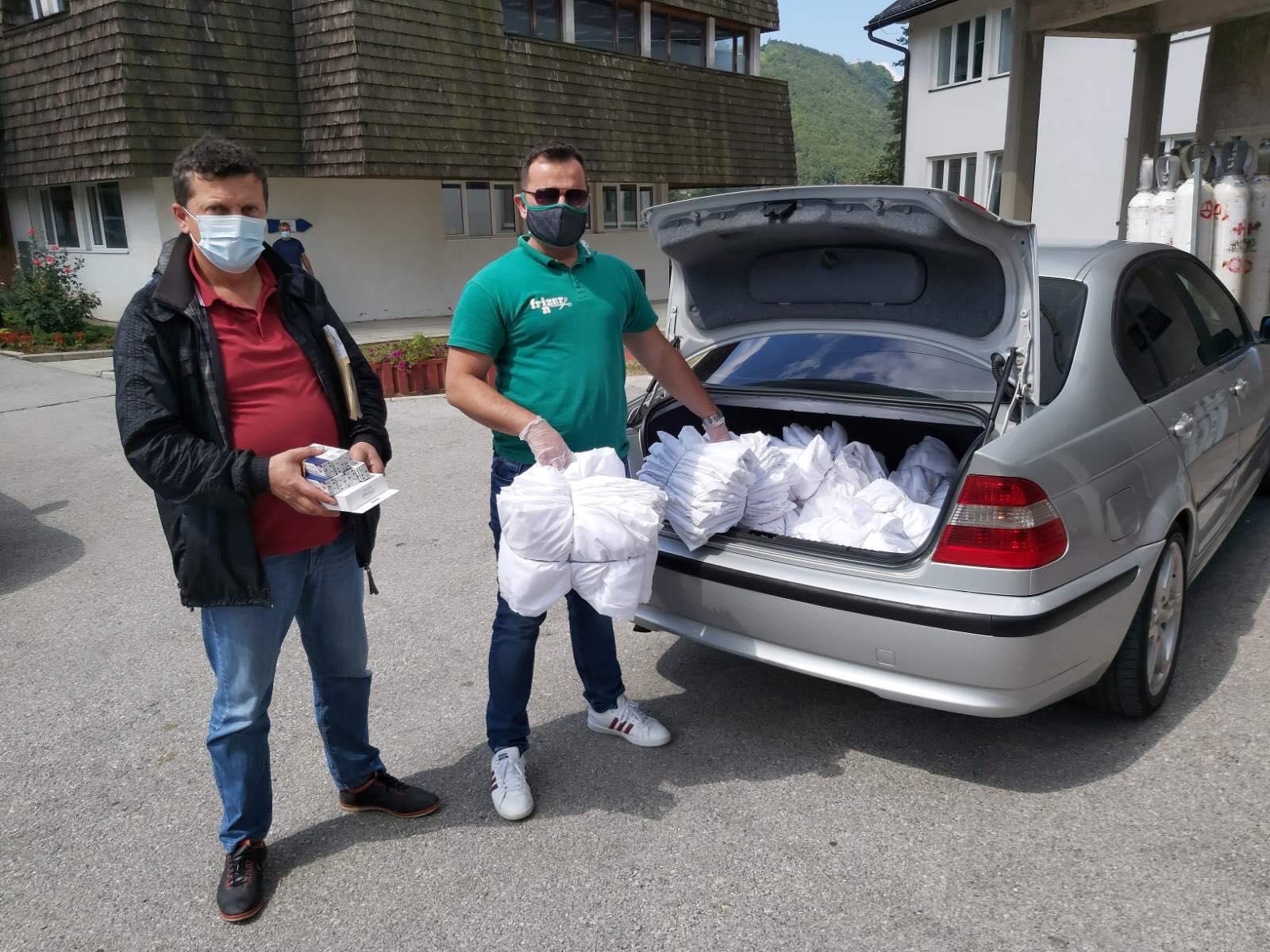 Donacijama pomažu u borbi protiv pandemije