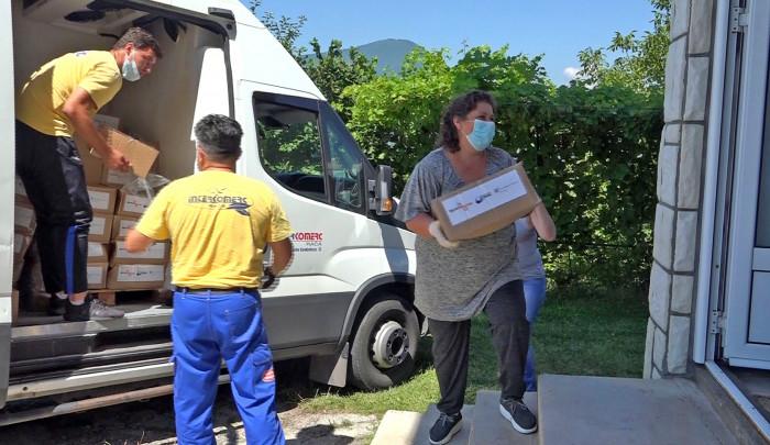 Fondacija Divac: Paketi pomoći za najugroženije žitelje Priboja