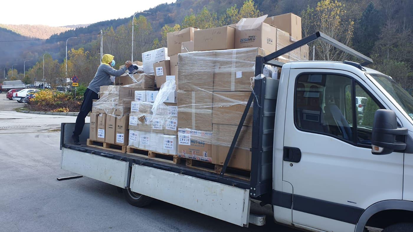 Donacija medicinske opreme stigla iz Turske u Prijepolje